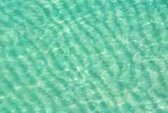 Vue aérienne d'océan peu profond Photos libres de droits
