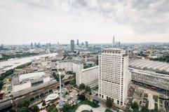 Vue aérienne d'oeil de Londres Image stock