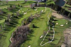 Vue aérienne d'Ontario du sud Photo libre de droits