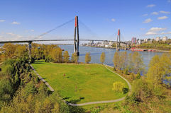 Vue aérienne d'un parc photos libres de droits