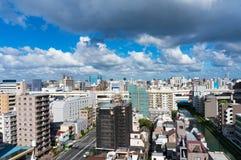 Vue aérienne de banlieue de Tokyo Photo stock