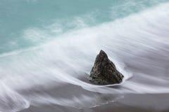 Vue aérienne de belle plage de la Californie du nord Photographie stock libre de droits