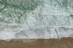 Vue aérienne de Brighton Beach photographie stock