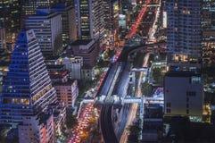 Vue aérienne de BTS Chong Non Sri Image libre de droits