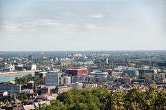 Vue aérienne de Budapest Photographie stock