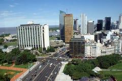 Vue aérienne de Buenos Aires Photographie stock libre de droits