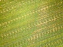 Vue aérienne de campagne d'Essex Photos stock