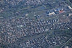 Vue aérienne de campagne de Melbourne Photos libres de droits