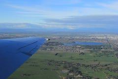Vue aérienne de campagne de Melbourne Image stock