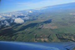 Vue aérienne de campagne de Melbourne Images libres de droits