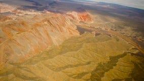 Vue aérienne de canyon grand et de fleuve Colorado banque de vidéos