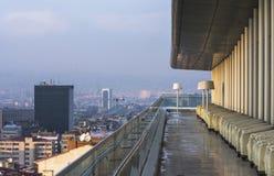 Vue aérienne de capitale de la Turquie Ankara est la capitale de la Turquie, ville d'affaires Images stock