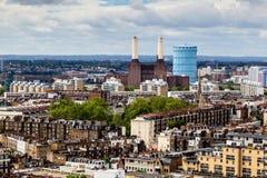 Vue aérienne de cathédrale de Westminster Photographie stock libre de droits