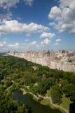 Vue aérienne de Central Park Photographie stock