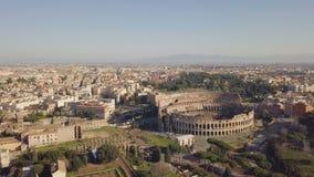 Vue aérienne de Colosseum clips vidéos