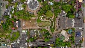 Vue aérienne de Copenhague d'en haut clips vidéos