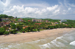 Vue aérienne de Costa Rica occidental Image libre de droits