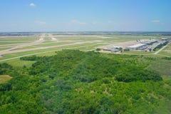 Vue aérienne de Dallas Image stock