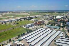 Vue aérienne de Dallas images libres de droits