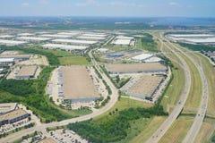 Vue aérienne de Dallas Photographie stock libre de droits