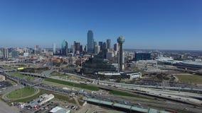 Vue aérienne de Dallas du centre clips vidéos