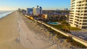 Vue aérienne de Daytona Beach, la Floride image libre de droits