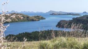 Vue aérienne de diverses îles Photographie stock