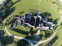 Vue aérienne de Dungeness Photo libre de droits