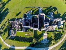 Vue aérienne de Dungeness Photos stock