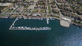 Vue aérienne de Fethiye Images stock
