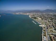 Vue aérienne de Fethiye Image stock