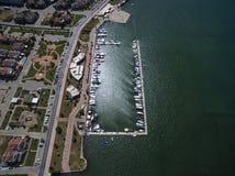Vue aérienne de Fethiye Photographie stock