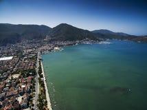 Vue aérienne de Fethiye Images libres de droits