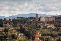 Vue aérienne de Florence, Italie Image libre de droits