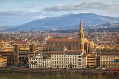 Vue aérienne de Florence, Italie Image stock