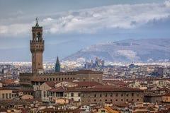 Vue aérienne de Florence, Italie Photographie stock