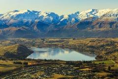 Vue aérienne de Frankton Images stock