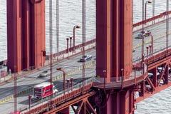 Vue aérienne de golden gate bridge à San Francisco image libre de droits
