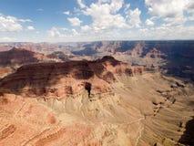 Vue aérienne de gorge grande Image stock