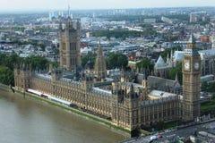 Vue aérienne de grand Ben photo libre de droits