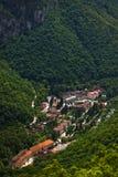vue aérienne de herculane Photos stock