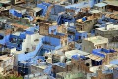 Vue aérienne de Jodhpur photographie stock