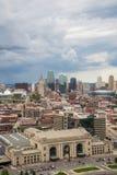 Vue aérienne de Kansas City Missouri photo libre de droits