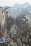 Vue aérienne de Kiev Photos libres de droits