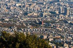 Vue aérienne de Kobe City, Japon Photographie stock libre de droits