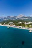 Vue aérienne de l'aire de loisirs Image libre de droits