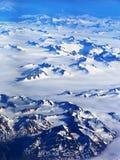 Vue aérienne de l'Alaska Images stock