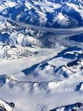 Vue aérienne de l'Alaska Photographie stock libre de droits