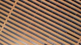 Vue aérienne de la centrale solaire située dans l'Arizona, stat unie photos stock
