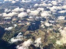 vue aérienne de la Floride centrale Photo stock
